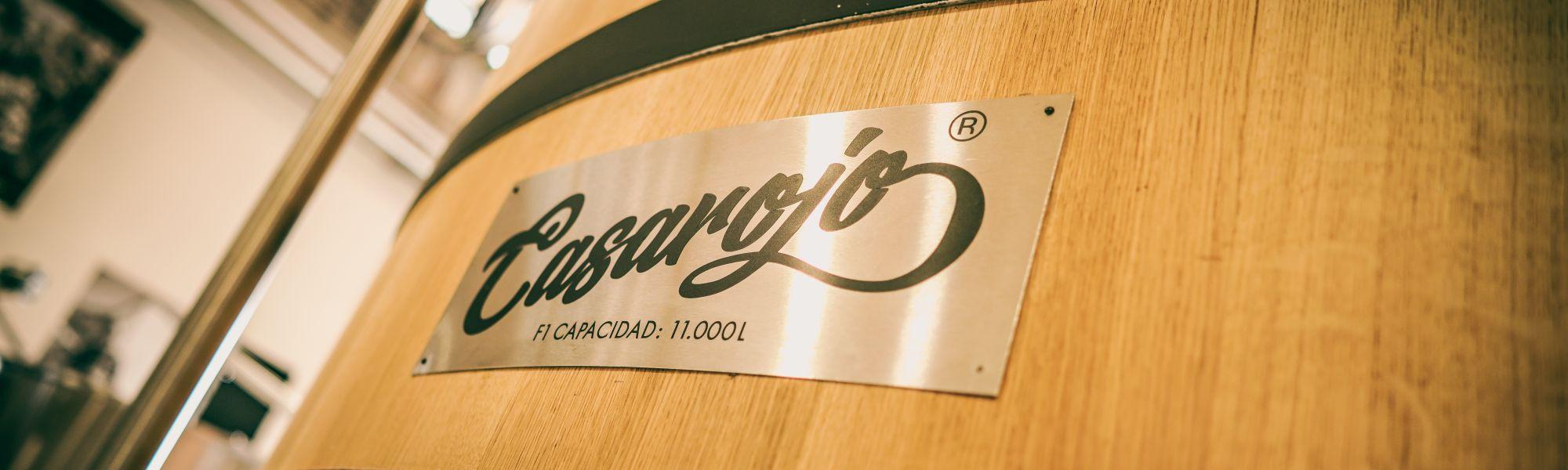 Weingut Casa Rojo Spanien Lagertank