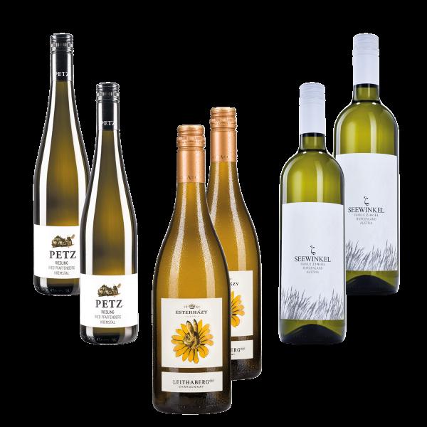 Wein Danke, Weinpaket, Probierpaket, Weißwein