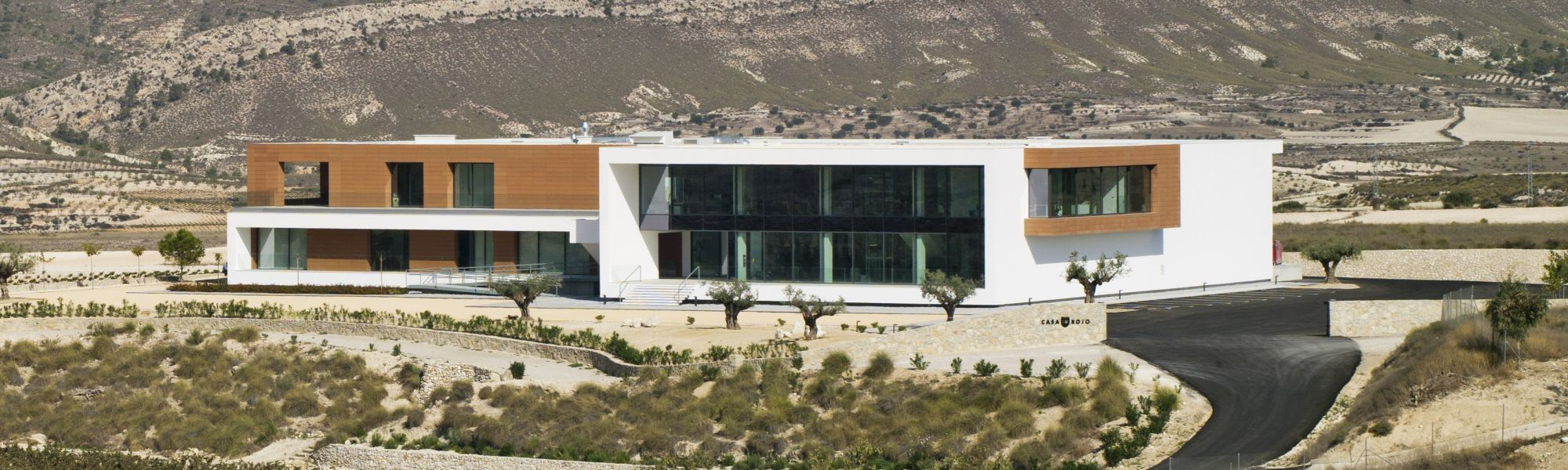 Weingut Casa Rojo Spanien Gebäude