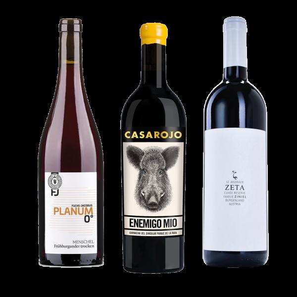 Wein Danke, Weinpaket, Probierpaket, Rotwein